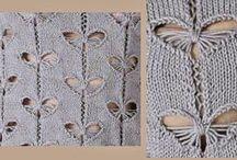 Butterfly lace pattern