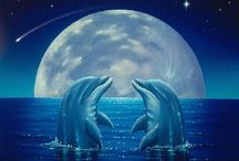 Dolphins / Inspiring Dolphin Art  & Photography