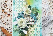 Вальс цветов2 (бумажные цветы самодельные)