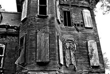 Haunted by old houses / Old houses,architectural details, and oddities / by Vicky Wood