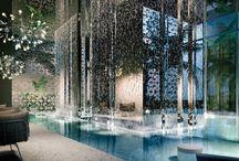 Interiorismo / Trabajos de decoración de interiores de los más prestigiosos creadores del mundo, tanto en viviendas, edificios públicos, comerciales, corporaciones, y tiendas.