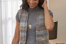 easy knitting patterns free