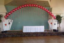 Casino Theme Balloon Decor / Casino Party Theme Decor