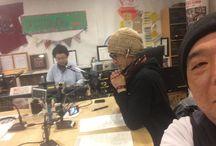 FMわぃわぃ / FBMasterくまはちが、FMわぃわぃの番組に出演した時のスナップ写真 http://kumahachi.me/