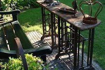 máquinas de costura antiga