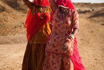 Gypsy in Rajasthan Desert