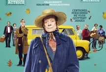 The Lady in the Van / Le 16 mars au cinéma. Un film de Nicholas Hytner, avec Maggie Smith, Alex Jennings et Frances de la Tour.