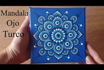 Cómo pintar mandalas en acrílico