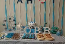 Robb's Nautical Themed Dessert Party