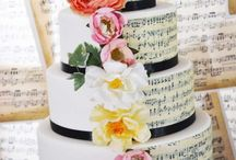 Wedding theme: Music be the food of love / Inspiration for a vintage & music themed wedding!