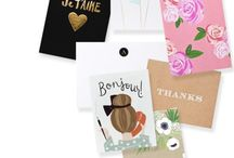 Stationery and Branding / by Lucille Conradie
