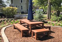 Outdoor Tables, Cabinets, Buffets & More