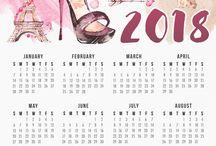 calendars....