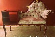 Sillas y sillones vintage / El elemento mas vintage