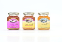 PURE HONEYS / Mother's Mountain has three different Honeys Our Maine Honey Bees travel the country pollinating and making delicious honeys for you.