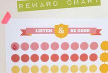 Printable Reward Systems & Chore Charts
