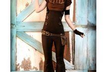 Steampunk abiti donna