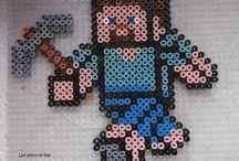 Minecraft perles Hama