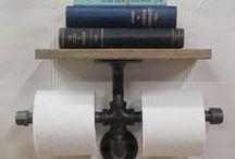 Toiletpapierhouer en rakkie