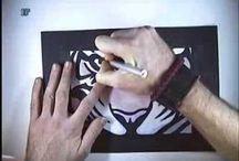 Stencil og tryk tutorials