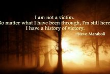 Be a Victor - NOT Victim / Laughter and a good attitude can get you through almost anything