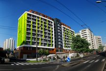 Miletičova 60 - polyfunkčný bytový dom / Z Miletičovej ulice sa stáva atraktívna pulzujúca tepna s ponukou bývania pre všetkých, ktorí to do práce a na nákupy nechcú mať ďaleko.