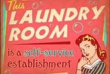 Laundry Room Ideas / My favorite budget-friendly laundry room ideas and decor.