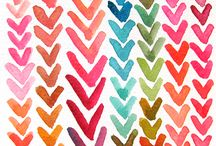 Colour & Pattern Love / by Bumbleberry (Meg Vitale)