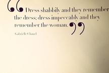 Fashion / by Nancy Etoll