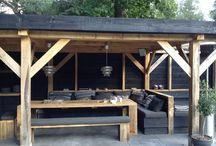 Overkapping/ veranda / tuinkamer
