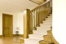 Venables Oak staircases, Bespoke Joinery / Venables Oak design and make custom made staircases for any style of dwelling, and for interior or exterior use.