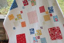 Quilt small and large squares / Colourful squares