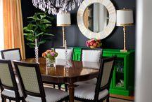 Dining room/Living room decor