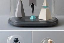 Kunst en vormgeving paper art