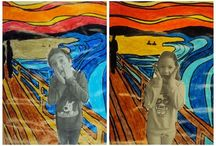 munch collage
