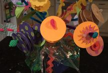 Blooming Stix / Flowers that wont spoil made from recycled and reused materials.