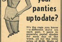 Ads ↜ / Mostly sexist vintage ads, some just weird. / by Ev