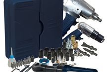 Air Tools for Nailing, Painting and Auto Projects
