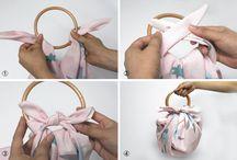 손수건 묶기