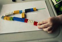 Homeschooling with legos