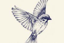 Bird / Tattoo ideas
