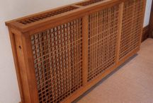 Venables Oak bespoke joinery, miscellaneous / From stair gates to radiator covers