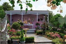 Prachtige tuinen, pergola's, balkons en veranda's
