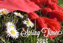 Spring Time / Italian fashion shawls