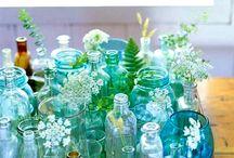 RANDOM GLASS BOTTLES, JARS &OTHER FINDS
