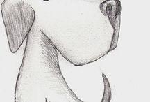 sketch of pets