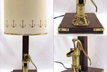 ABAJURLAR / LAMPSHADES / Marin Dekorasyon, Ev Dekorasyon, Tekne Dekorasyon, Abajur, Gece Lambası ---- Marin Decorating, Home Decorating, Yacht Decorating, Lampshade, Lampshades