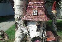 Сад фей домики