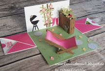 Stampin up - Explosionsbox