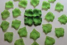 1000 petales de soie vertes,petales de fleurs,decoration table mariage fetes ceremonie